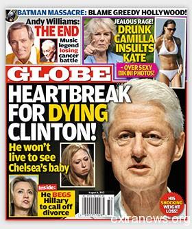 Билл Клинтон: бывший президент США находится при смерти?