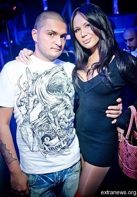 Dino MC со своей девушкой Мишаней
