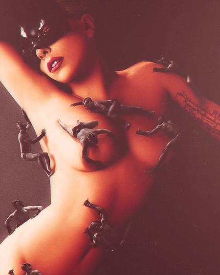 Леди Гага в рекламе духов