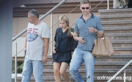 Юлия Михальчик с мужем Владимиром