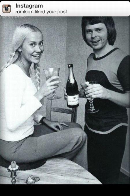 Солисты группы ABBA