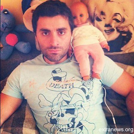 Гурам Баблишвили и тренировочный сын