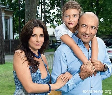 Игорь Крутой с семьей