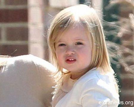Дочь Анджелины Джоли и Брэда Питта Вивьен