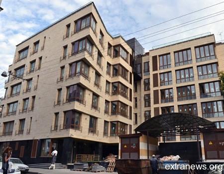 Дом где находится квартира Николая Баскова