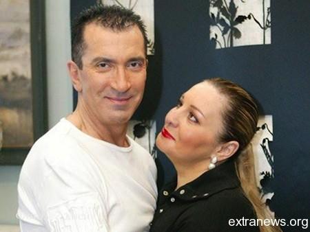 Александр Буйнов с женой