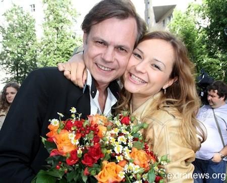 Владимир Левкин с женой