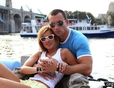 Михаил Терехин и Ксения Бородина