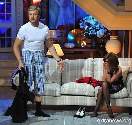 Анастасия Заворотнюк и Валдис Пельш