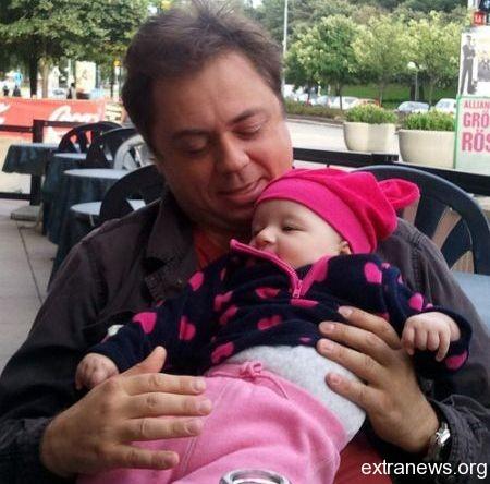 Андрей Леонов с дочерью