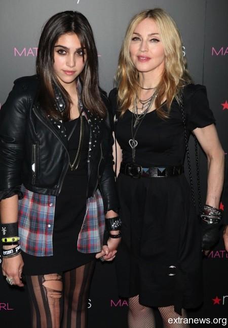 Мадонна с дочкой Лурдес