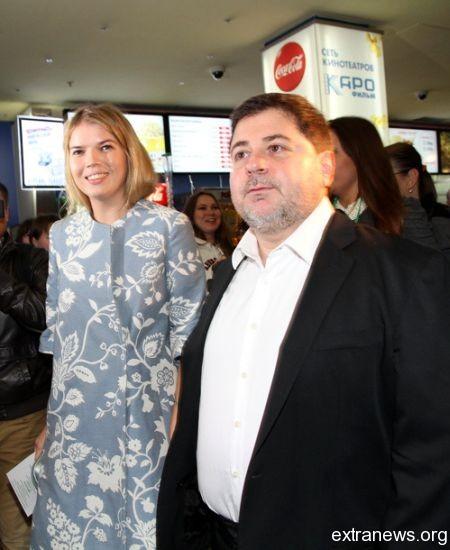 Виктория Галушка и Александр Цекало