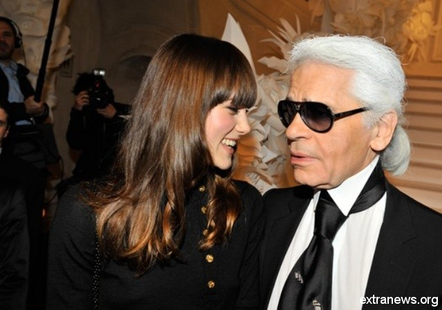 Coco chanel and karl lagerfeld