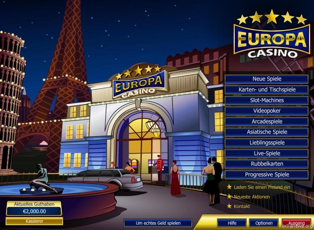 европа казино играть онлайн