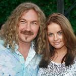 Николаев и жена на природе