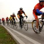 Много велосипедистов