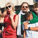 Михайлов с семьей